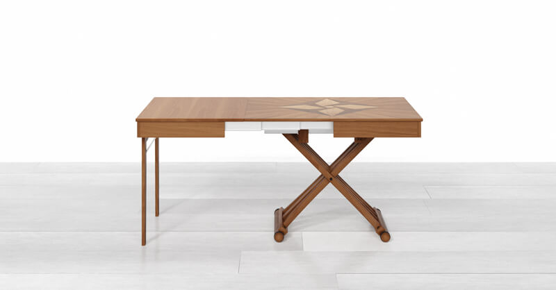 table basse relevable extensible gain