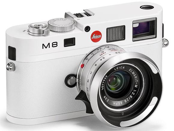 Leica M8 White Edition