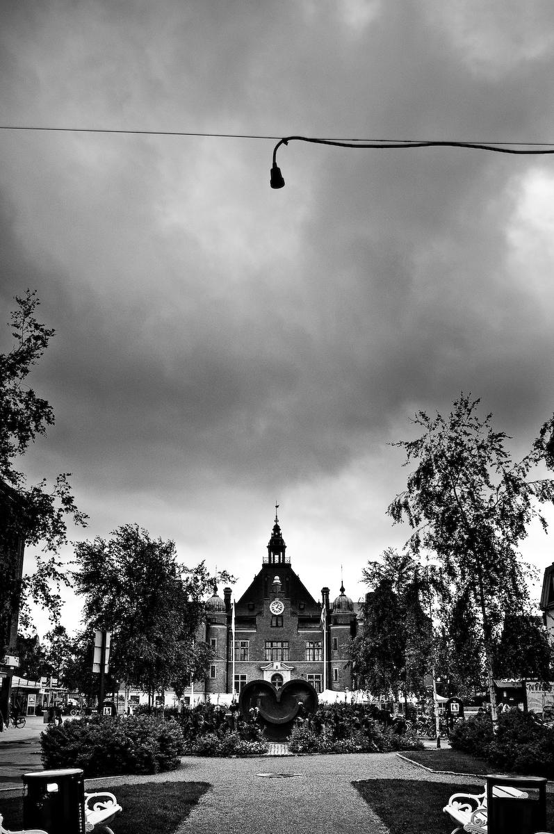 Rådhusesplanaden, Umeå. Fotograf Lars-Göran Norlin