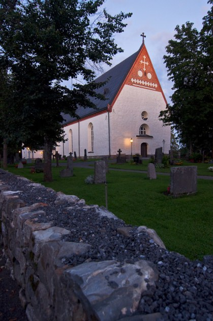 Backens kyrka, Umeå. Fotograf Lars-Göran Norlin