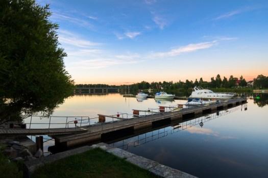 Båtbrygga Umeå. Fotograf Lars-Göran norlin