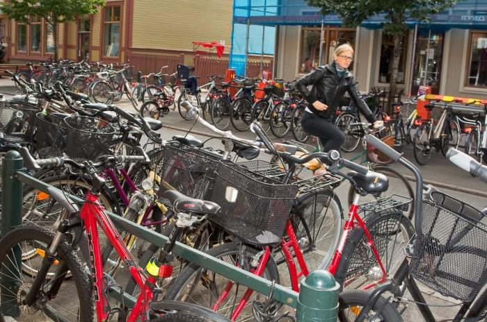 Kungsgatan, Umeå. Fotograf Lars-Göran Norlin