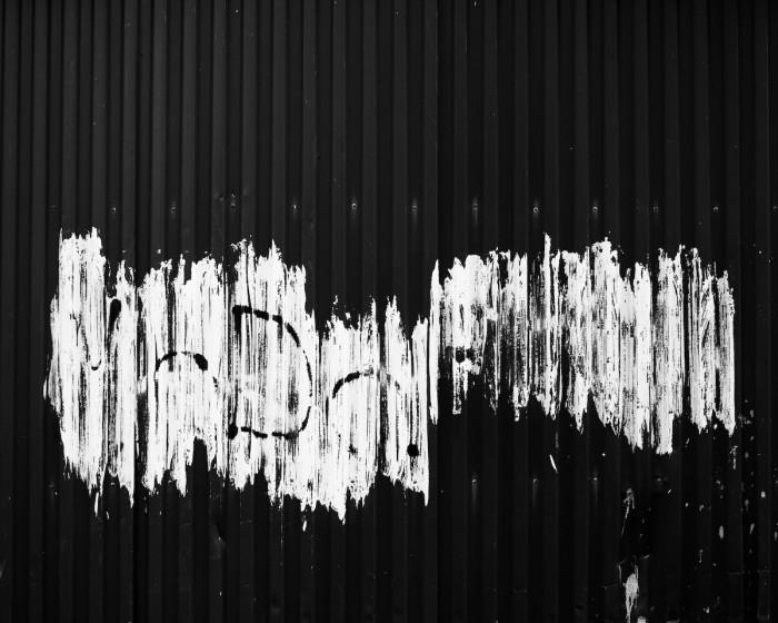Färg på vägg. Fotograf Lars-Göran Norlin