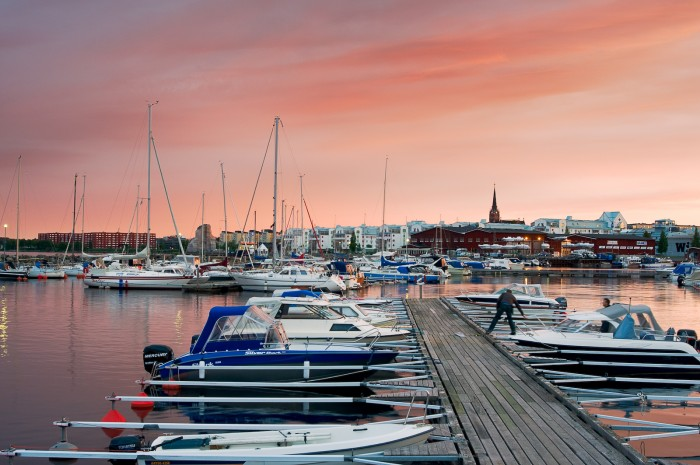 Ettans småbåtshamn, Luleå