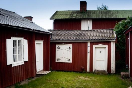 Kyrkbyn, Gammelstad, Luleå.