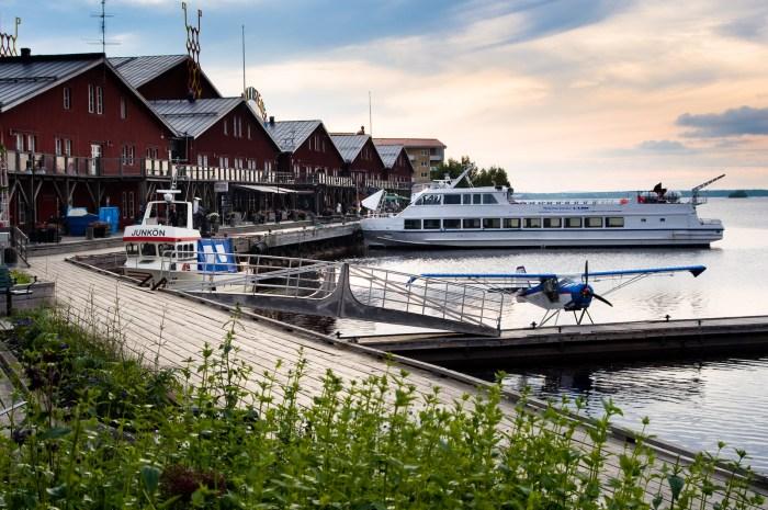 Norra hamn, Luleå. Fotograf Lars-Göran Norlin