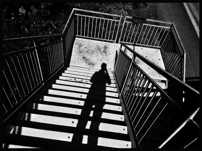 Bild av skugga och trappa