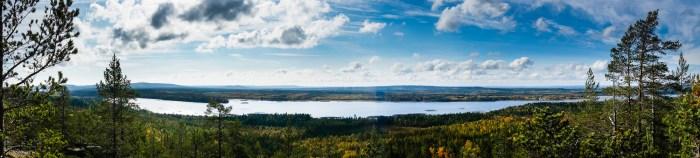 Utsikt från Bälingeberget.