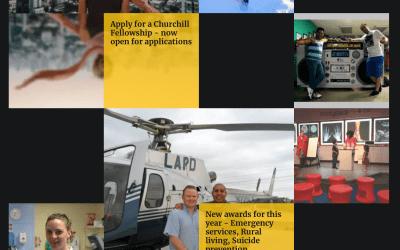 The Winston Churchill Memorial Trust Travel Fellowships
