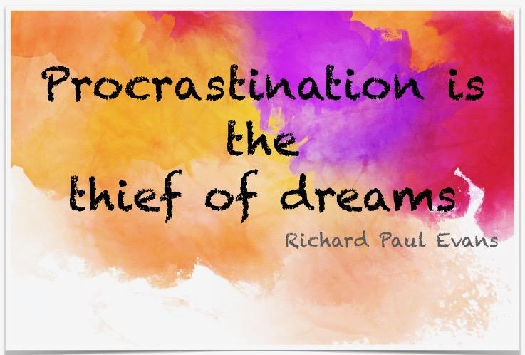 New Online Workshop. Stop procrastinating & get moving
