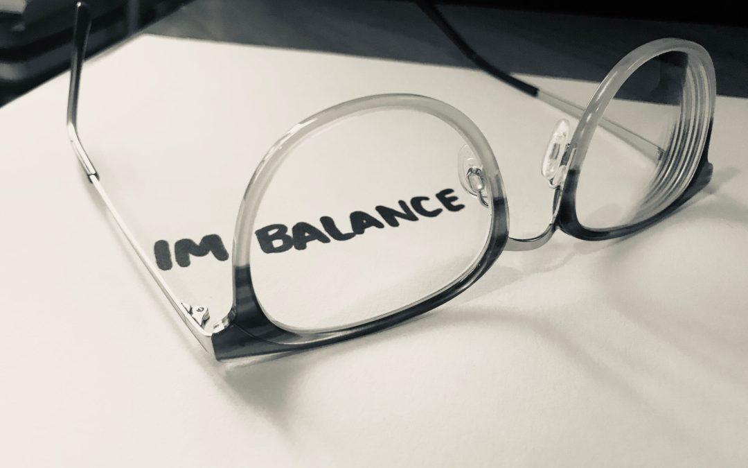 A balanced imbalance