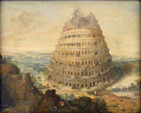 Was war die Sünde der Leute vom Turmbau zu Babel