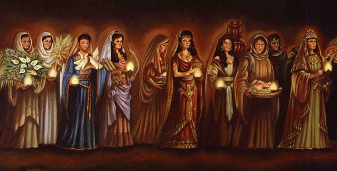 Wie soll man das Gleichnis von den 10 Jungfrauen verstehen?