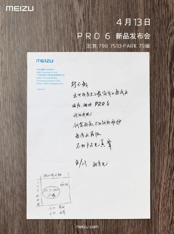 Meizu Pro 6 - Rilis