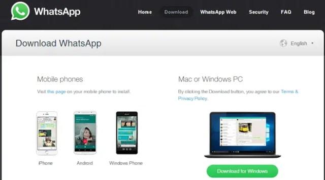 WhatsApp Desktop - Download