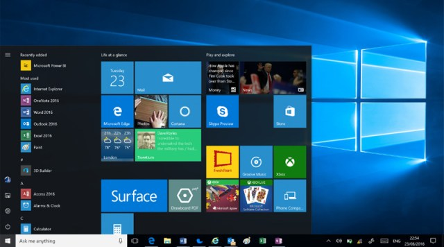 Windows 10 Ilustrasi