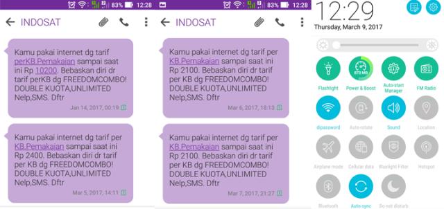 Indosat Nyedot Pulsa