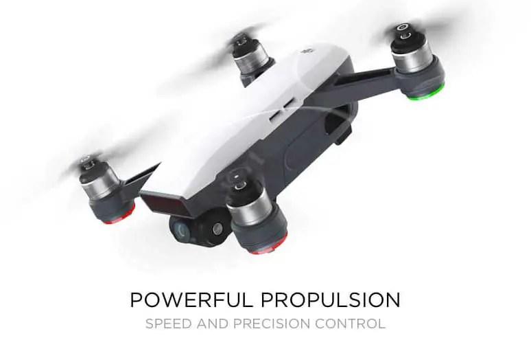 DJI Spark - powerful-propulsion