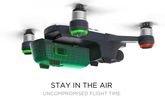 DJI Spark - stay-in-the-air