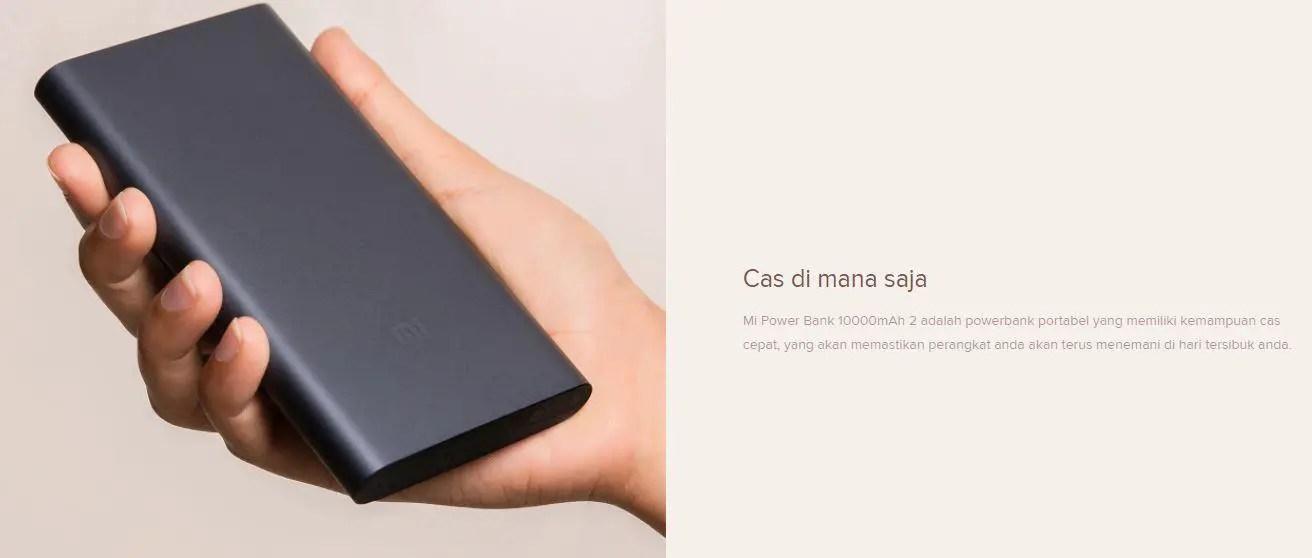 Xiaomi Mi Powerbank 10000 mAh