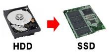 Ganti HDD ke SSD