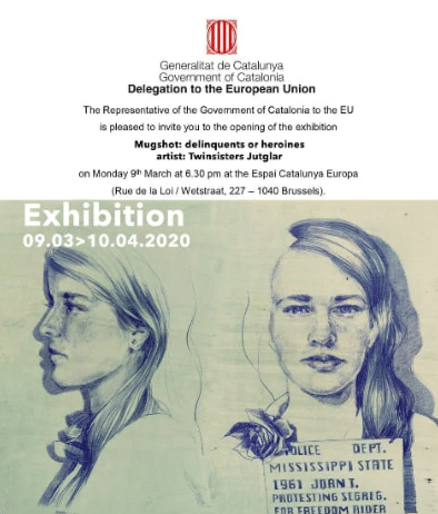 Les Twinsisters exposen a Brusel·les