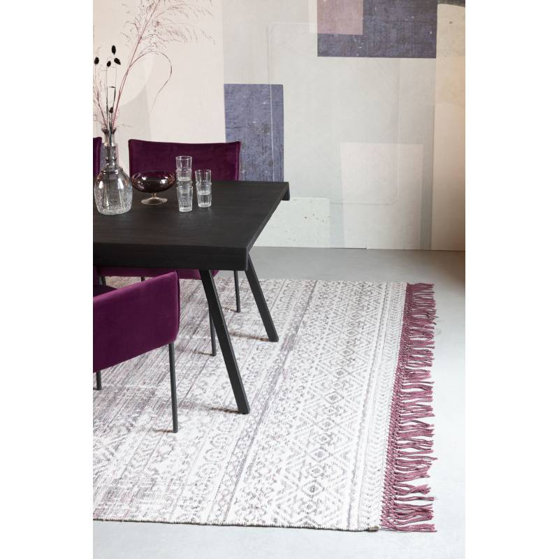 tapis liv prune woody carpette design