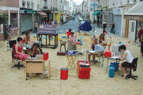 Une plage à Paris