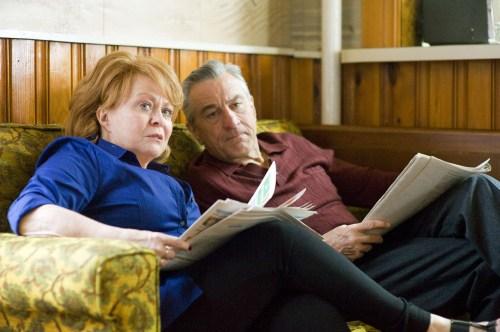 Jacki Weaver et De Niro, les parents du héros, pas mal non plus !...