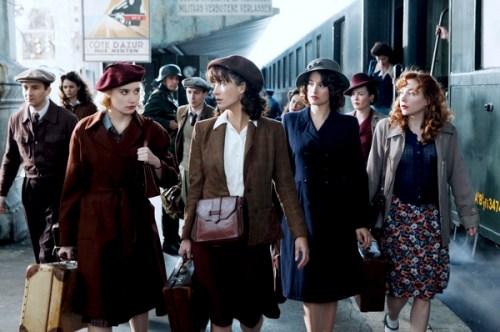 Tournage Les Femmes de l'ombre