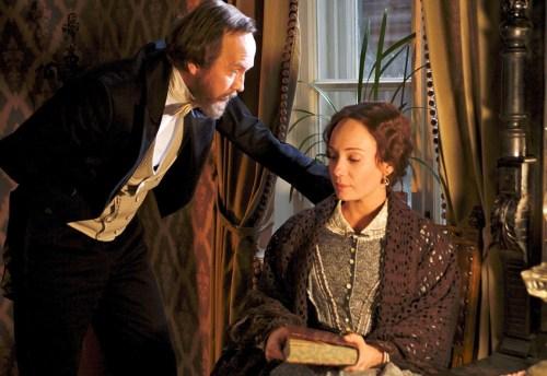 Le romancier et sa première épouse qu'il fréquente bien avant son veuvage...