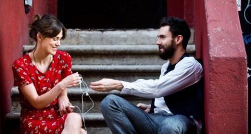 La belle retrouve son ex pour parler chansons...