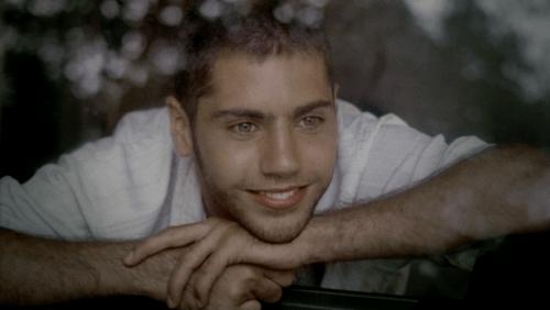 Walter Quiroz,un jeune acteur, à l'époque