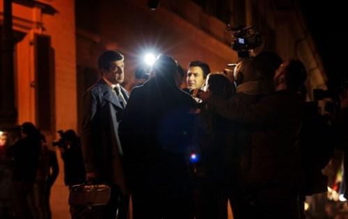 Le député tente encore de sauver les meubles auprès des journalistes
