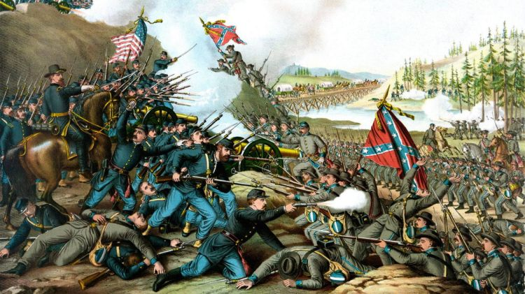 Batalla de Gettysburg - Grandes Campañas de la Guerra Civil Americana