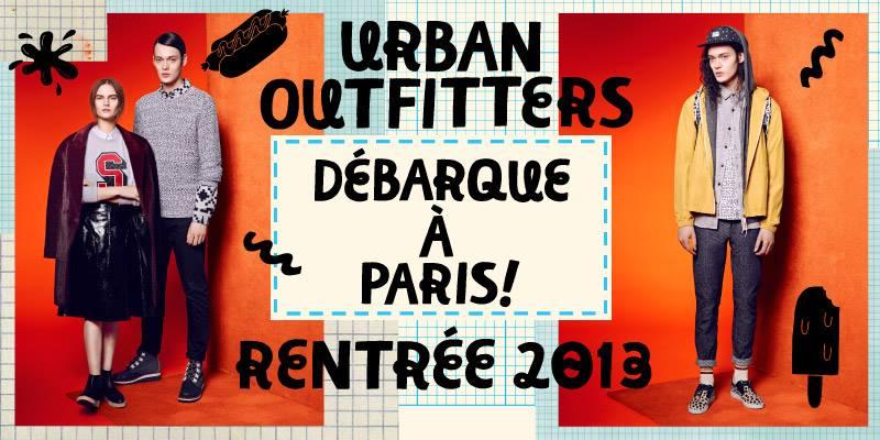 Urban Outfitters s'installe à Paris