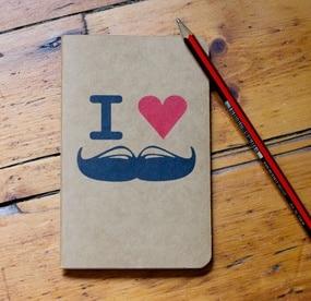 La cahier moustache