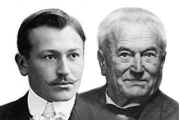 Hans Wilsdorf + Alfred Davis