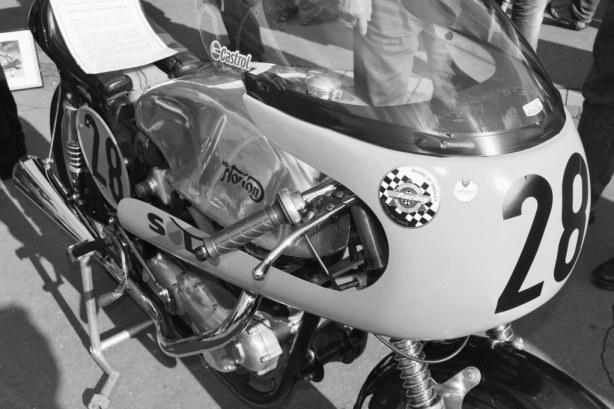 Norton de course salon moto légende Paris 2013