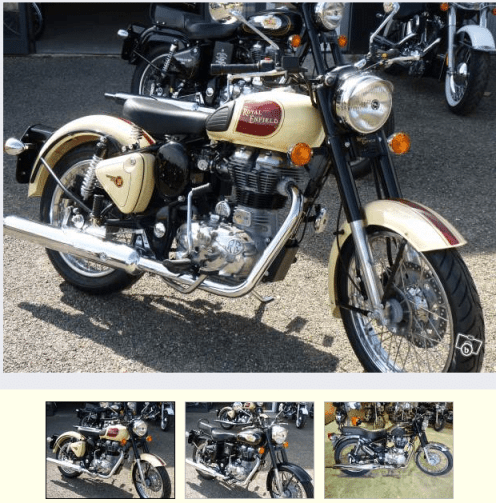 Royal enfield santal