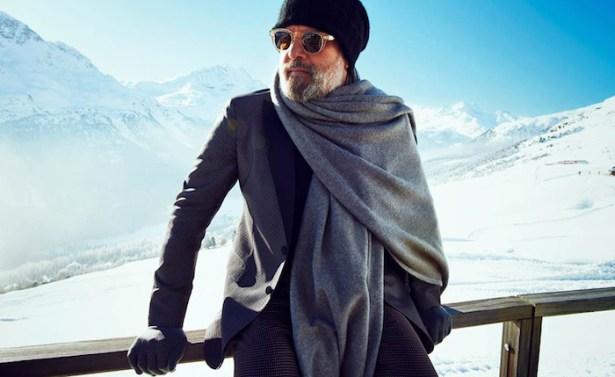 Porter une écharpe à la montagne