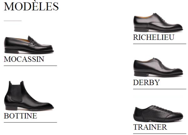 Chaussures JM WESTON pour homme