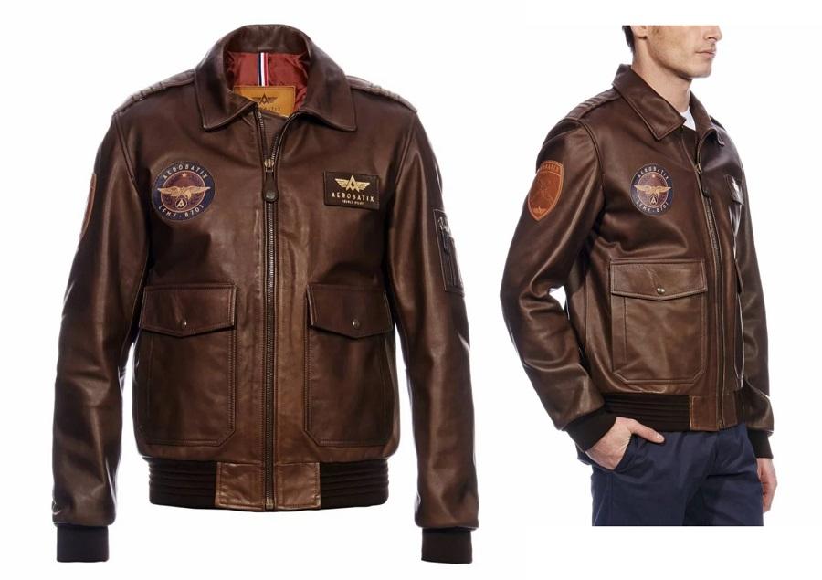Veste - blouson en cuir Aerobatix