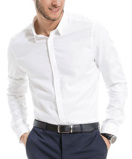 Chemise blanche hommme Brice