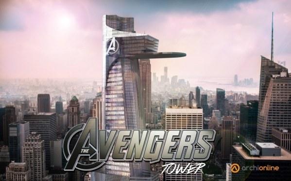 Plan de la tour Avengers