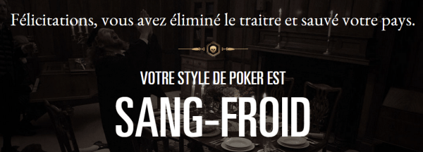 Poker et sang-froid