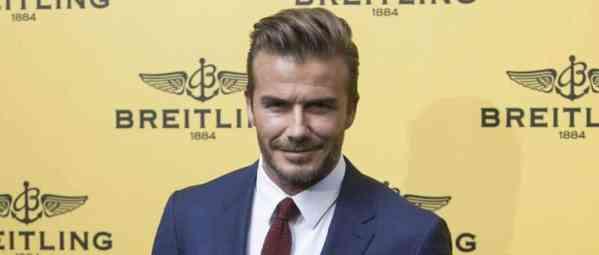 David Beckham dans France Football