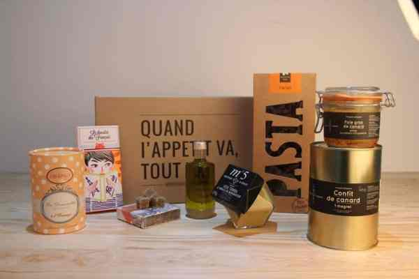 Exemple de box Bonjour French Food