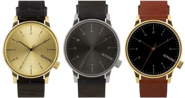 Les montres Komono
