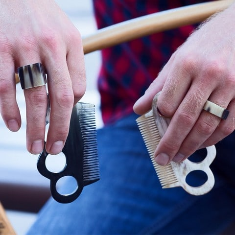 Peigne à barbe, L'artisan créateur